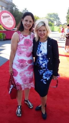 With Mayor Bonnie Crombie